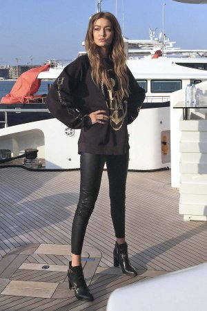 Gigi Hadid photoshoot for Tommy Hilfiger