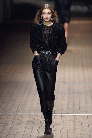 Gigi Hadid walks for Isabel Marant