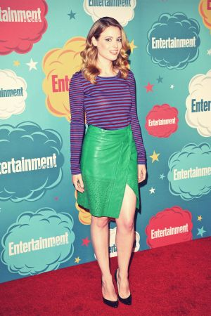 Gillian Jacobs attends Marvels Captain America - The Winter Soldier