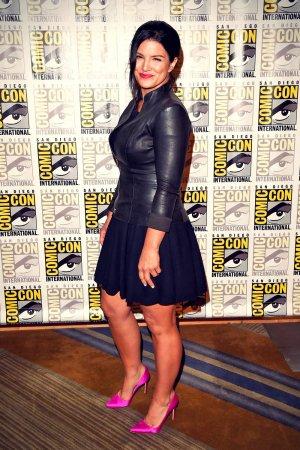 Gina Carano attends 20th Century Fox Press Line