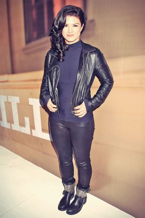 Gina Carano attends Under Armour launch of new technology Armour39