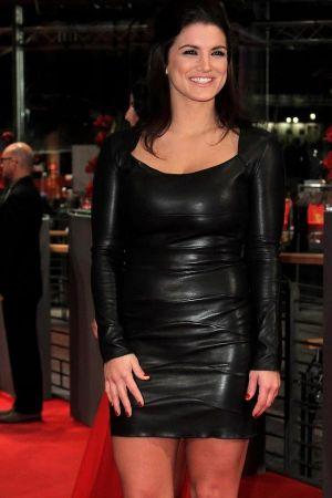 Gina Carano Haywire premiere in Berlin