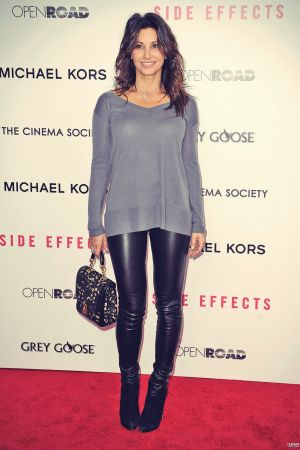 Gina Gershon at the New York City premiere of Side Effects