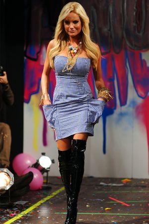 Gina Lisa Lohfink at NY Fashion Week