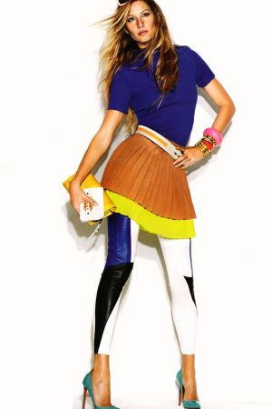 Gisele Bundchen in Vogue Australia