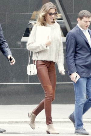 Gisele Bundchen out & about in NYC