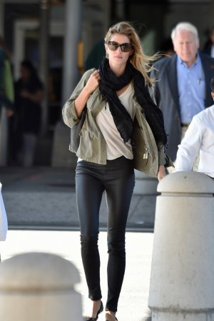 Gisele Bundchen was spotted at JFK International Airport