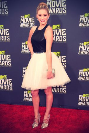 Greer Grammer attends MTV Movie Awards 2013