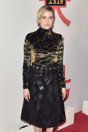 Greta Gerwig attends Isle of Dogs film screening