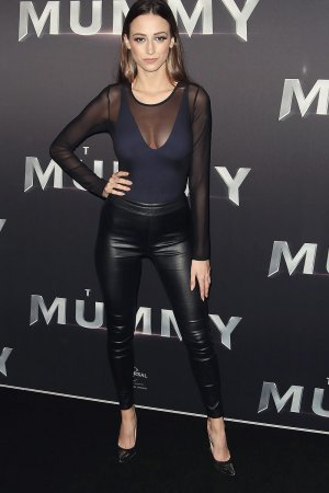 Guest attends The Mummy Premiere