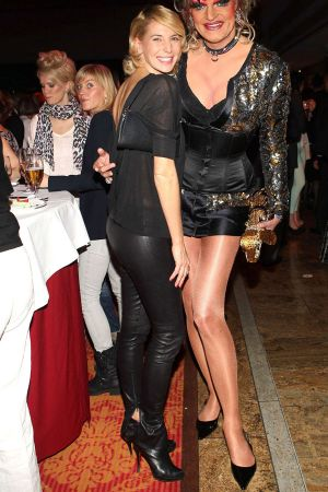 Giulia Siegel at Event Prominent in Hamburg