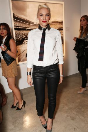 Gwen Stefani at Exposure 2 Photo Exhibit