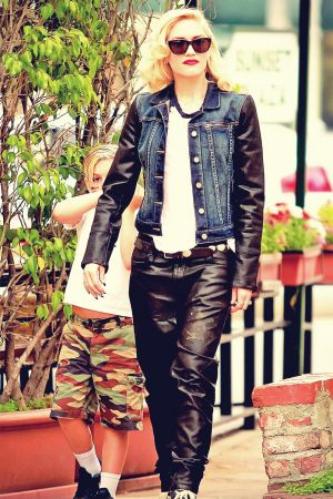 Gwen Stefani leaving Sunset Plaza in West Hollywood
