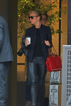 Gwyneth Paltrow out and about in NYC