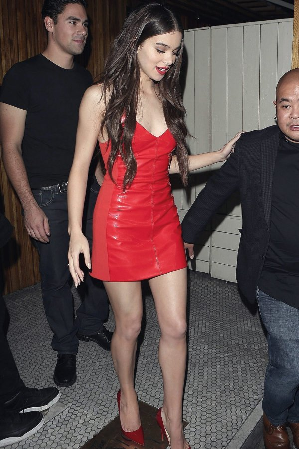 Hailee Steinfeld at The Nice Guy Club