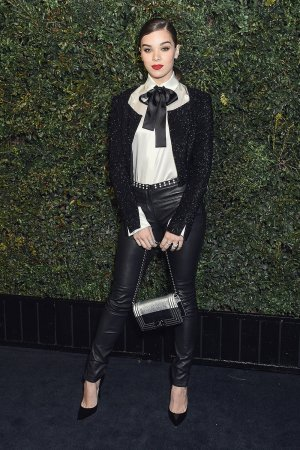 Hailee Steinfeld attends the Charles Finch and CHANEL Pre-Oscar Awards Dinner