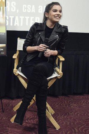 Hailee Steinfeld attends The Edge of Seventeen screening