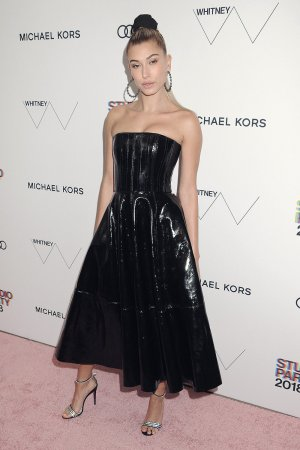 Hailey Baldwin attends The Whitney Museum Gala
