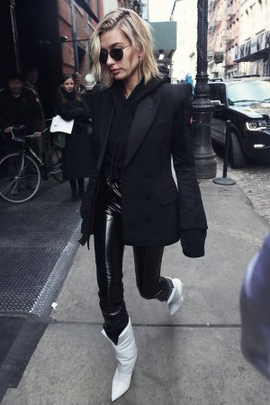 Hailey Baldwin attends Zadig and Voltaire for NYFW