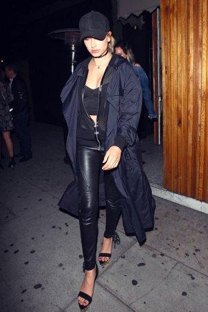 Hailey Baldwin leaving The Nice Guy Club