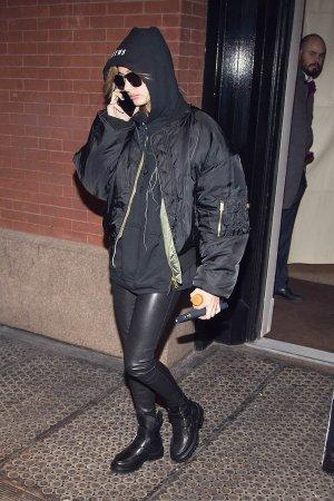 Hailey Baldwin seen in SoHo New York City