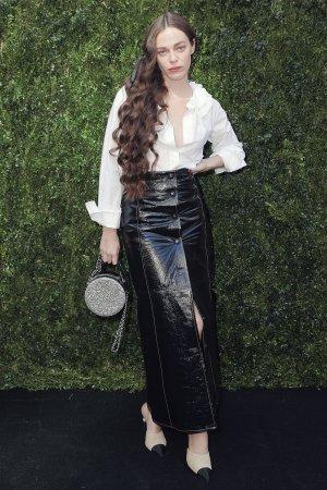 Hailey Gates attends Through Her Lens: The Tribeca Chanel Women's Filmmaker Program Luncheon