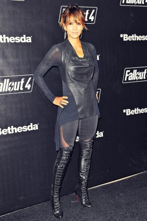 Halle Berry attends Fallout 4 launch party