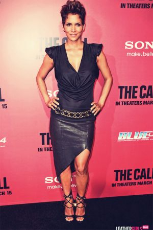Halle Berry attends the premiere of her new film The Call