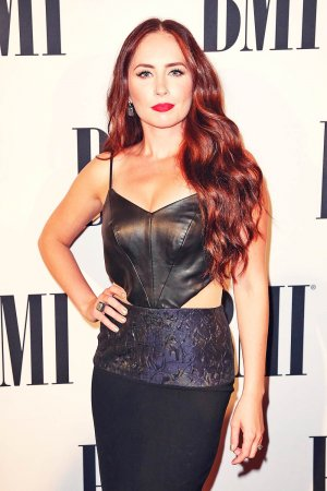 Hannah Blaylock attends 63rd Annual BMI Country Awards