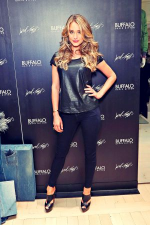 Hannah Davis attends Guys Night Out event