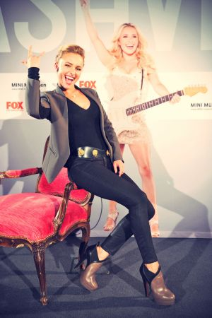 Hayden Panettiere at Nashville screening