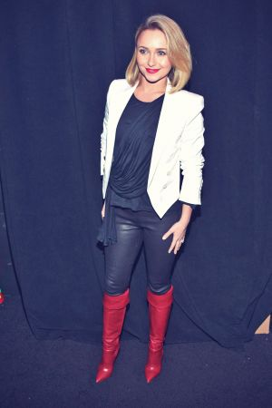 Hayden Panettiere attends Revolt Bring the Music Revolution event
