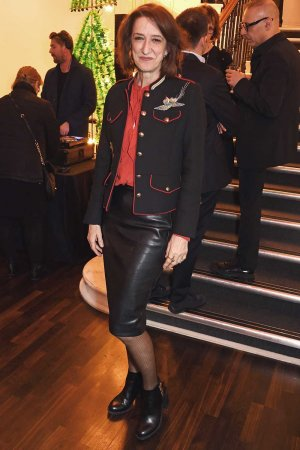 Haydn Gwynne attends the press night after party for 'Art'