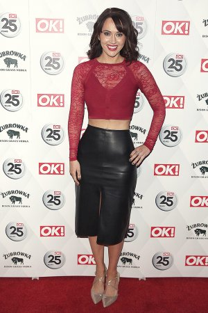 Hayley Sparkes attends the OK! Magazine's 25th anniversary party