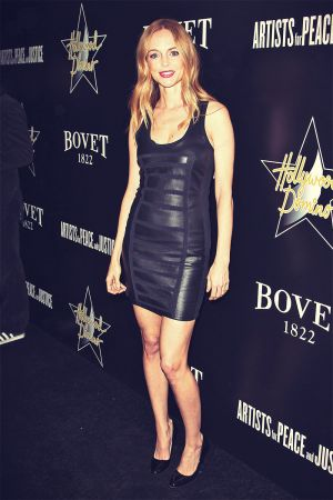Heather Graham attends Hollywood Domino And Bovet 1822 Gala