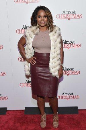 Heavenly Kimes attends Almost Christmas Atlanta screening