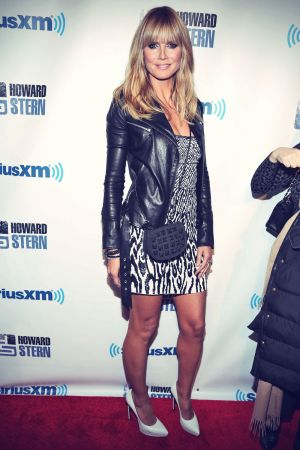 Heidi Klum at Howard Stern's birthday bash presented by SiriusXM