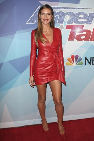Heidi Klum attends America's Got Talent Live Show