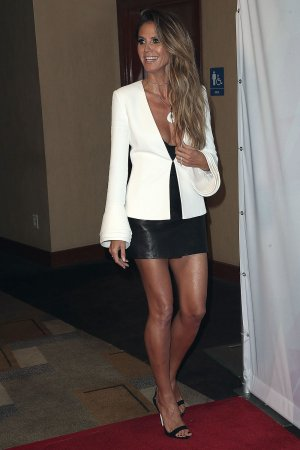 Heidi Klum attends America's Got Talent Season 12 Live Show Semi Final