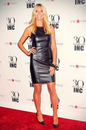 Heidi Klum attends Heidi Klum + Gabriel Aubry's celebration of the launch of INC's 30th Anniversary