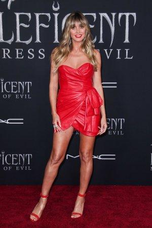 Heidi Klum attends Maleficent: Mistress of Evil Premiere