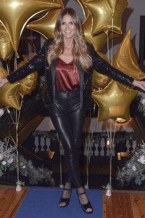 Heidi Klum attends presentation of the new collection 'Esmara by Heidi Klum'