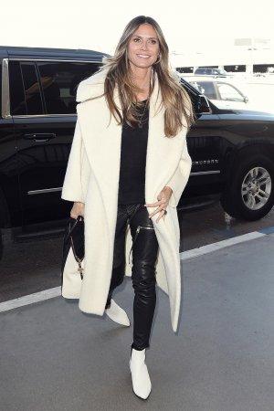 Heidi Klum departs from LAX