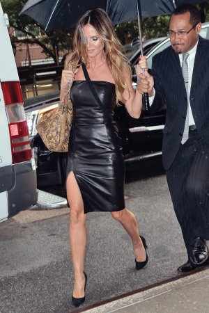 Heidi Klum out in NYC