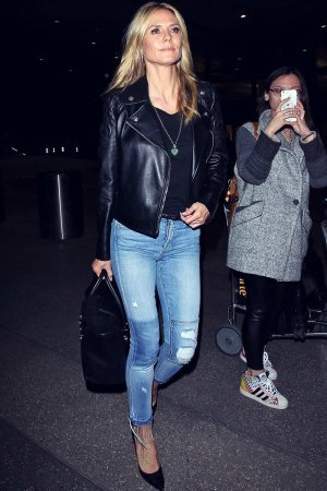 Heidi Klum seen at LAX