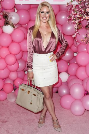 Heidi Montag arrives at the Booby Tape USA Launch Party