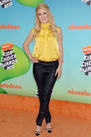 Heidi Montag attending 2019 Kids Choice Awards