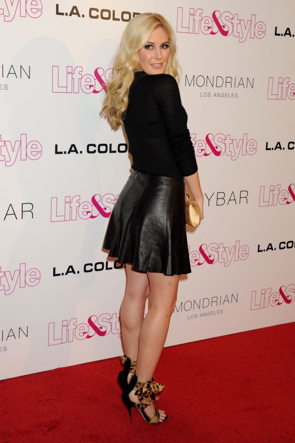 Beyonce >> Heidi Montag attends Life & Style Weekly's 10th anniversary party - Leather Celebrities