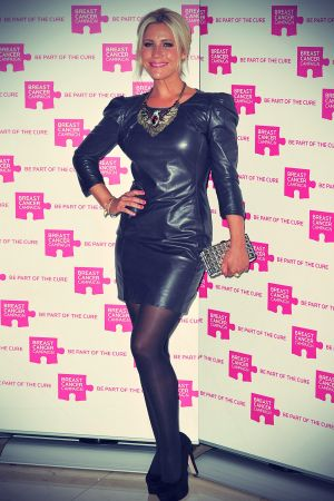 Heidi Range at Breast Cancer Campaign Action Month launch party