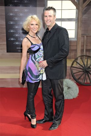 Heike Kloss movie premiere Cowboys and Aliens